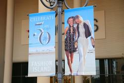 50년 역사의 초대형 야외 쇼핑몰인 뉴포트비치(Newport Beach)의 패션아일랜드(Fashion Island)