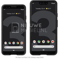구글의 3세대 스마트폰 픽셀3(Pixel3) 발표일, 디자인