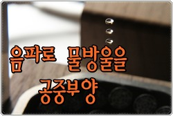 음파로 물방울을 공중부양 시키는 장식품 - LeviZen