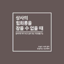 [카드뉴스] 상사의 힘희롱에 대처하는 현명한 방법