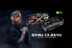New iCHILL X3 JEKYLL by INNO3D –  Two Fans, Two Personalities
