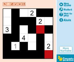 새로운 독특한 퍼즐 클래식 누리카베 Classic Nurikabe