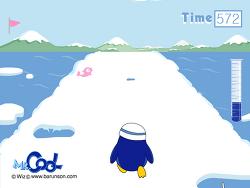 남극탐험 플래시게임