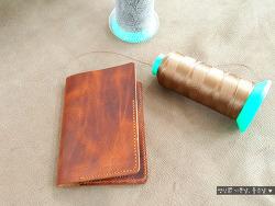 대구 가죽공방, 여권지갑만들기 원데이클래스 후기, 이든공방