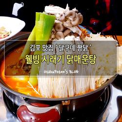 김포 맛집 '달구네 짱닭' 웰빙시래기닭매운탕