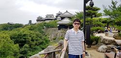 마쯔야마 여행, 시내 한복판의 아름다운 마쯔야마성_ 2일차-1