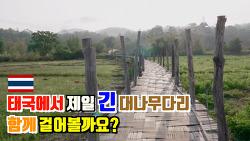 🇹🇭매홍손 | 쑤떵뻬 대나무 다리 (feat.태국에서 제일 긴 대나무다리)