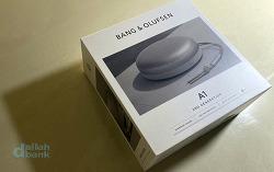 [스피커] 뱅앤올룹슨의 신상 포터블 블루투스 스피커 베오사운드 A1 2세대 개봉기