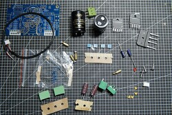 알리발 게인 클론(?) LM3886TF 68W+68W 스테레오 앰프 DIY 키트, 트로이달 양전원 만들기와 테스트 - 무식하면 용감함!!