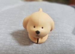 귀여운 캐릭터 강아지는 어디에 사용?