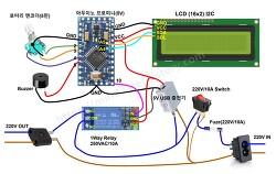 [Arduino] 아두이노 AC 릴레이 타이머 (인터벌기능 추가)  및 스케치파일 공유 Arduino AC-Relay Configurable Timer , Sketch Source