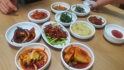 통영항 근처 복국식당