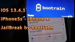 bootra1n+checkra1n 0.10.1, 윈도우 10 PC에서 iOS 13.4.1버전 아이폰 탈옥하는 방법