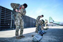 [AOA] 공정통제사(CCT) 낙하산 강하 훈련