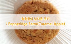 촉촉함이 남다른 쿠키 : Pepperidge Farm(Caramel Apple)