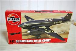 플라스틱 모형 비행기 De Havilland DH.88 Comet