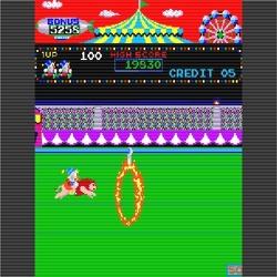 오락실 게임, 서커스(Circus Charlie) 온라인 플레이
