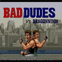 오락실 게임, 드래곤 닌자(Bad Dudes) 온라인 플레이