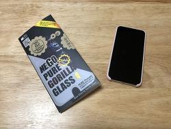 [핸드폰] NEGO PURE GORILLA GLASS4 아이폰X 강화 유리 필름 리뷰.