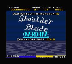 Shoulder Blade OVERDRIVE