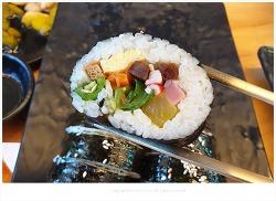경주 황리단길 황남만두, 만두 보다 땡초 김밥