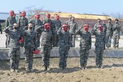 부후 383기 3주차 참호격투 훈련
