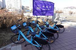 [20210124]안양시내에 등장한 공유자전거 '에브리바이크'
