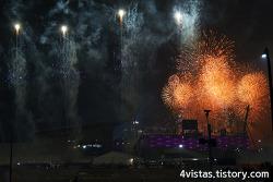 개막을 알리는 불꽃놀이!