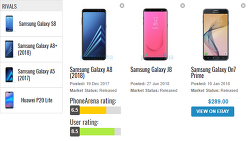 삼성 갤럭시 A8 VS J8 VS 갤럭시온7프라임 스펙비교