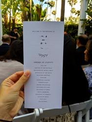 미국결혼식, 미국 고급 호텔 야외 결혼식의 모습은 어떨까?