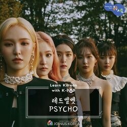 [Korean Class] Learn Korean with K-POP series 🎧레드벨벳 <Psycho>