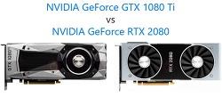 그래픽카드 비교 GTX1080Ti VS RTX2080