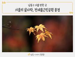 가을의 끝자락, 전재울근린공원 풍경