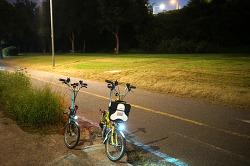 한강 자전거 데이트~