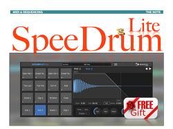 가상악기 심플 가이드 - 스피드럼 라이트 : 드럼 샘플러 ( Apisonic Labs - SpeeDrum Lite : Basic Guide )