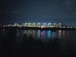 미사강변도시의 아름다운 밤