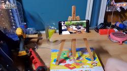 [작약꽃] 자투리 자재로 간단하게 만든 '핸드폰 (나무)거치대!' 이젤?