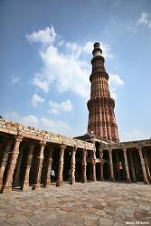 [인도 델리 여행] 델리 명소, 꾸뜹미나르 유적군