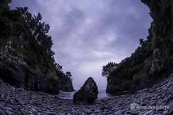 올레길에서 마주한 신비로운 풍경, 진곶내 해변