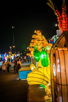 밤이 아름다운 진주남강유등축제