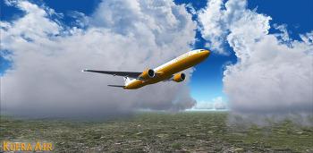 한불항공 . London Heathrow → Paris . B777-300ER . KFA007X