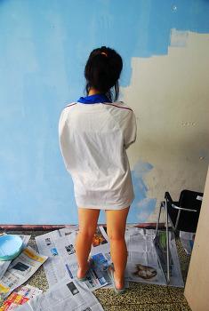 20120811 RUNNERS'HY 동방 대청소 및 페인트 칠!!