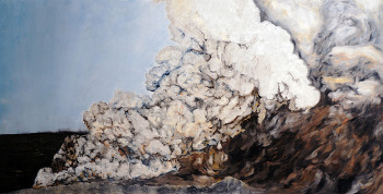 clouds 100 x 200 oil on canva 20120405