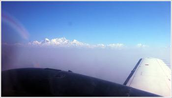 비행기에서 찍은 하늘사진 Best