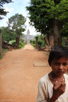 캄보디아 풍경-사람들
