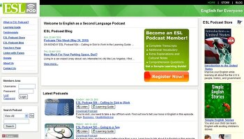 영어듣기, 리스닝, 영어청취 무료 인터넷 사이트, ESL podcast