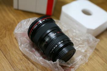 광각 렌즈 지름! ( 캐논 EF 17-40mm F4L USM )