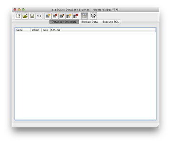 [Mac App] 맥용 DB매니저 SQLite Database Browser