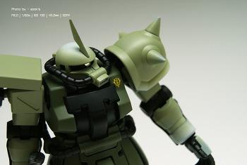 [완성] HGUC MS-06F-2 ZAKUⅡ F2