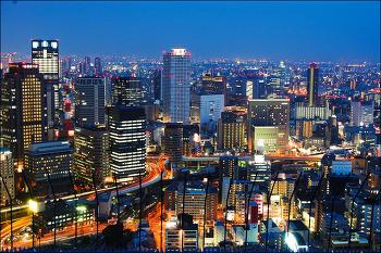 오사카 여행 7일차 (2) - 우메다 스카이 빌딩 & 공중 정원 전망대 ... JAPAN, OSAKA 2008